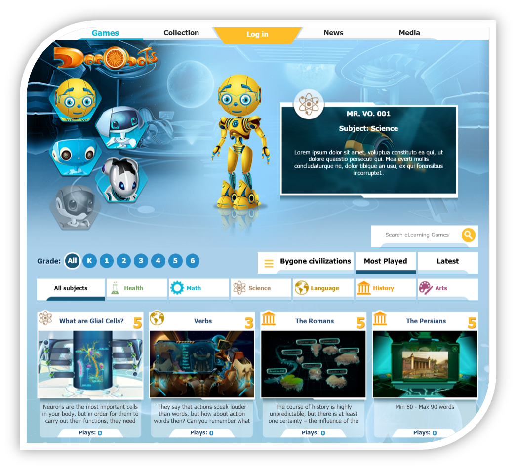 Dacobots – eLearning for Kids